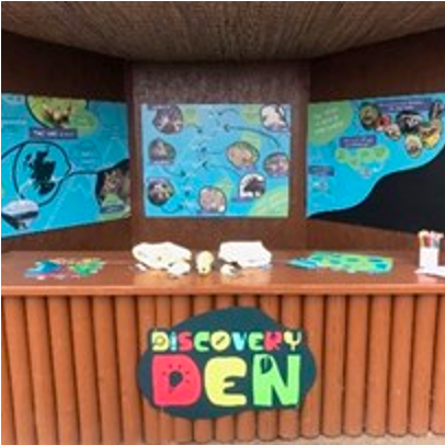 Discovery den