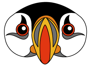 Puffin mask