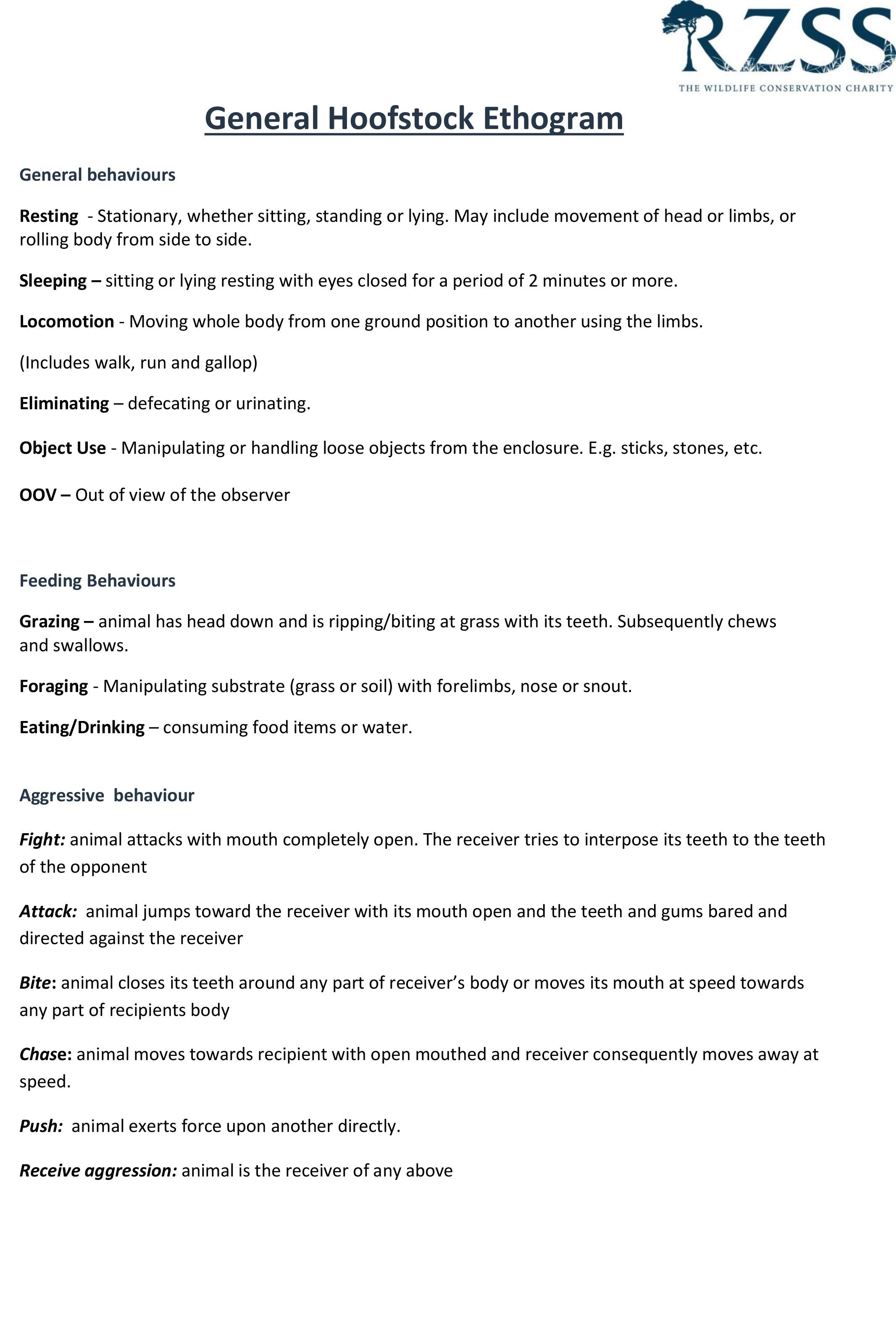 Hoofstock guidance 1